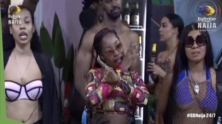 BBNaija 2021: Picture From Friday Night Party (13th,l August, 2021)