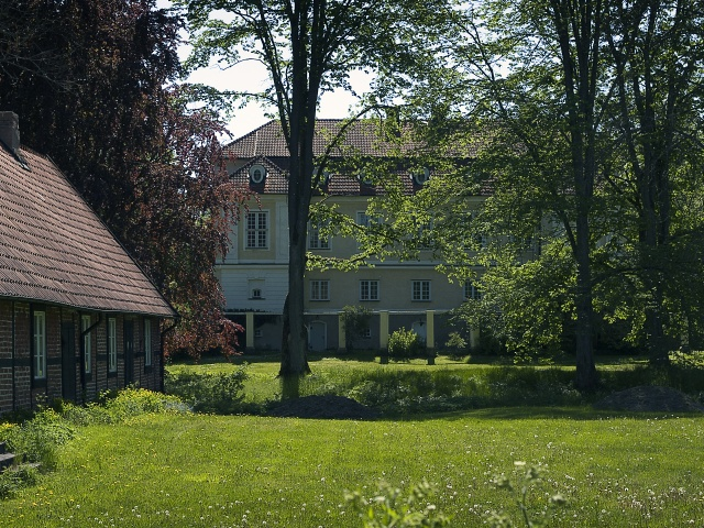 slottet norrfasad