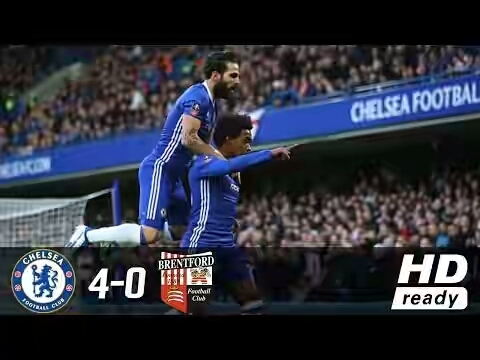Chelsea vs Brentford FA Cup Match Highlight