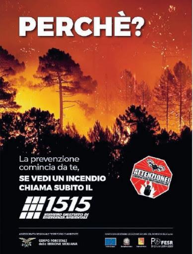 Per segnalare le zone in fiamme oppure le persone sospette nelle vicinanze di aree boscate e parchi