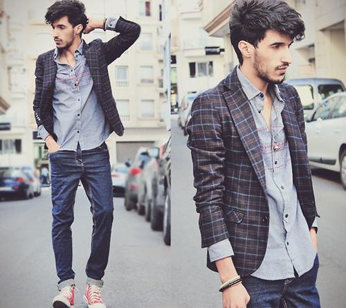 Chon ao vest nam dep de mac cung quan jeans  6