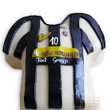 16. kép: Formatorták (fiúknak) - Juventus mez torta