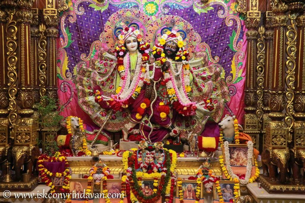ISKCON Vrindavan Sringar Deity Darshan 14 Jan 2016 (16)