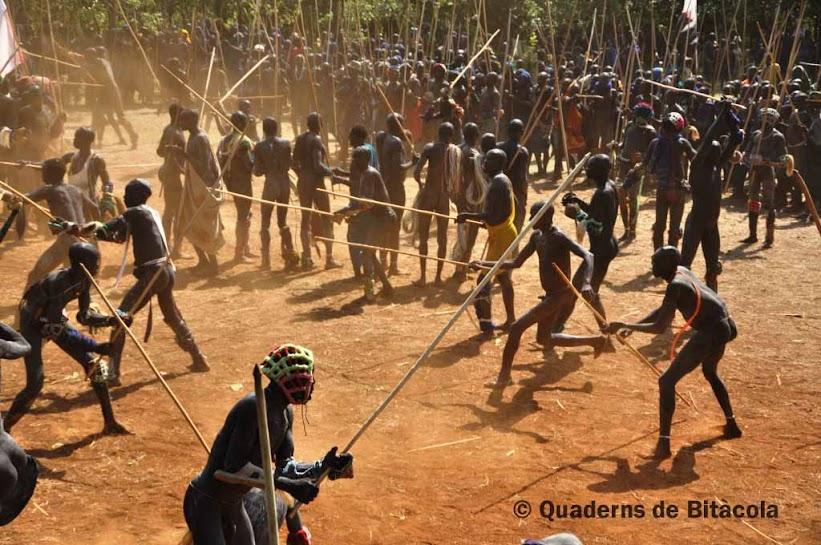 donga Etiopía, tribu surma