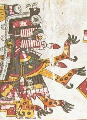 Itzpapalotl Aztec Goddess Of Seasons Image