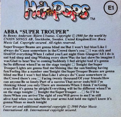 Cher - Super Trouper Lyrics   MetroLyrics