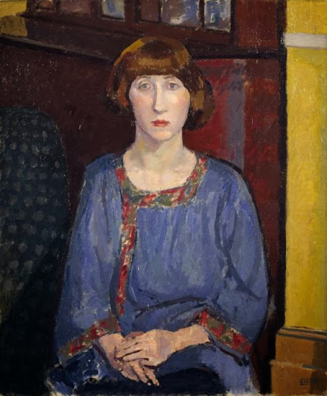 Spencer Gore - The artist's wife, 1913