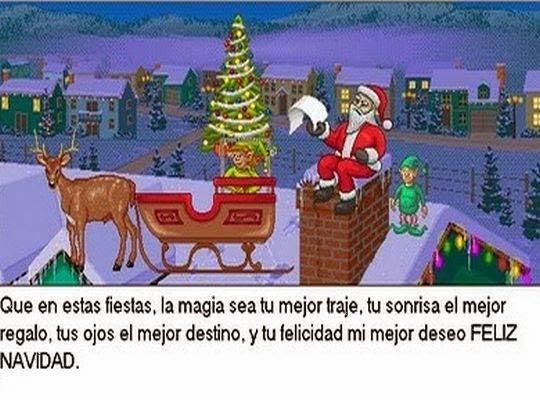 Hermosos mensajes de navidad