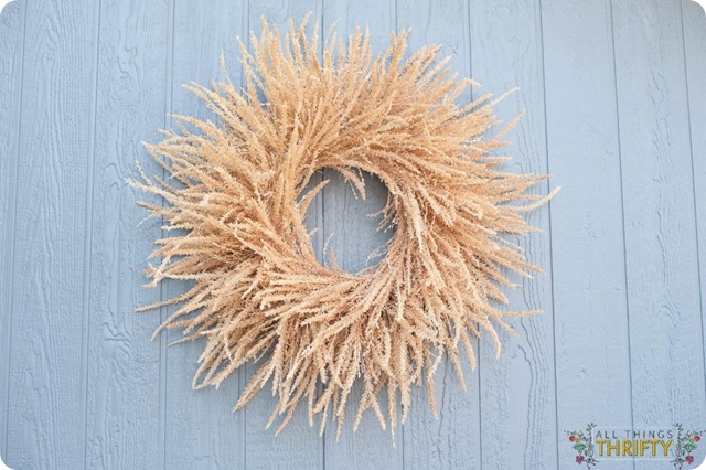 corn tassel wreath all things thrifty