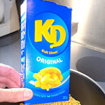 kraft dinner in Toronto, Ontario, Canada