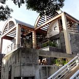 interesting house at Yuigahama Beach in Kamakura, Japan in Kamakura, Kanagawa, Japan