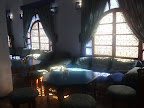 Interior del hotel Loubor