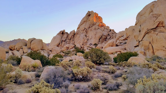 Granite Mountains sunrise