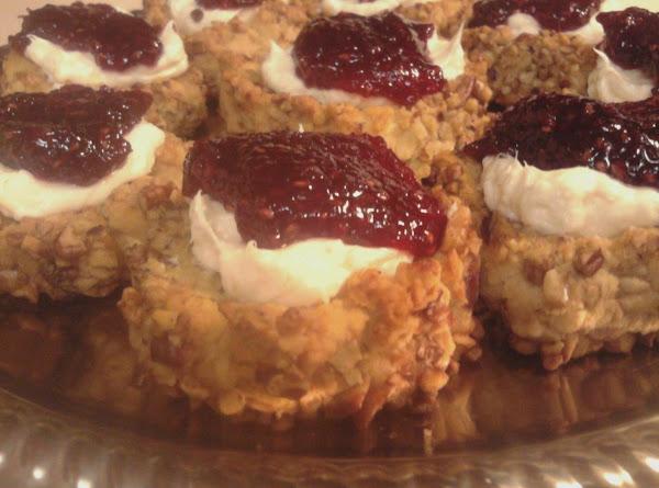 Red Raspberry Cream Cheese Thumbprints Recipe