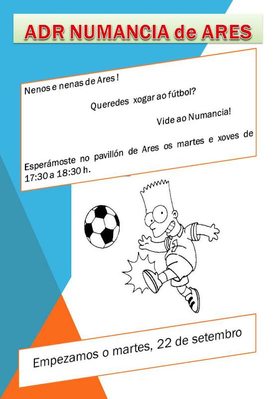 Numancia de Ares. Biberóns Presentación 2015-16-