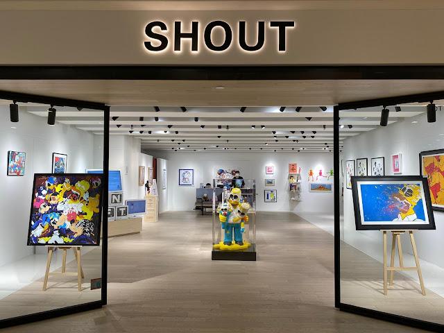 SHOUT x NOIZ x YAS 全港首個 NFT 藝術展