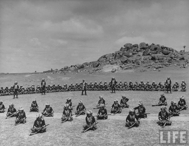 Arabian troops serving as Nizam's personal bodyguard