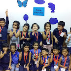 Blue Day Celebration by Jr. Kg. Section at Witty Kids, Chikoowadi (2018 - 19)