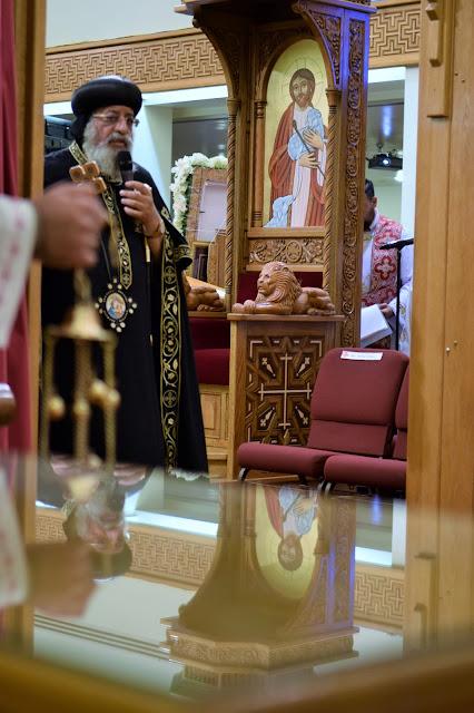 His Holiness Pope Tawadros II visit to St. Mark LA - DSC_0187.JPG