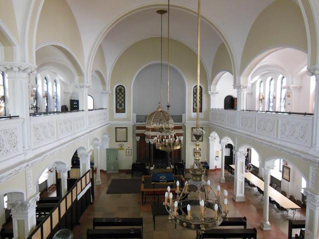 Interior de la Sinagoga Nozyk