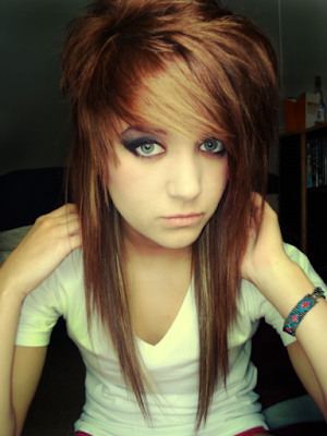 cute hairstyles for girls with short hair. so Cute with Short Blonde Emo