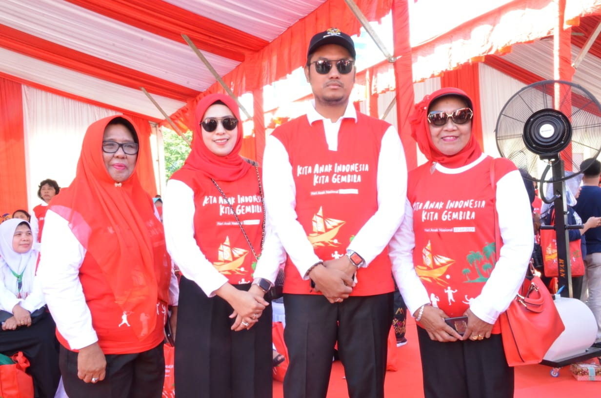 Bupati Sinjai Hadiri Peringatan Hari Anak Nasional di Makassar