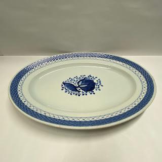 Royal Copenhagen Tranquebar Blue Oval Serving Platter