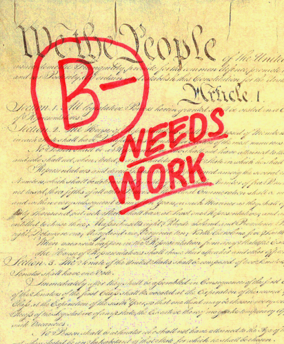 Constitution Questions Worksheet