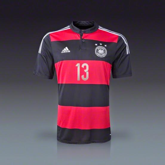 áo bóng đá đội tuyển đức sân khách