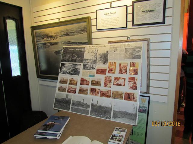 A resident shared their Tornado exhibit.