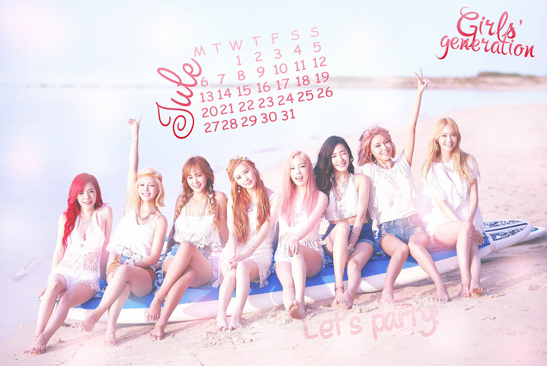 少女時代PARTYカレンダー1507