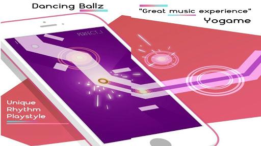 Dancing Ballz: Music Line APK Mod Vidas Infinitas