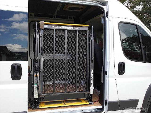 Ram ProMaster Conversion Wheelchair Lift