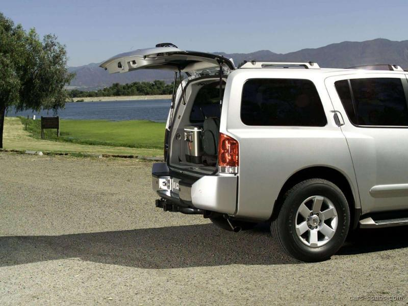 2004 nissan armada suv specifications pictures prices. Black Bedroom Furniture Sets. Home Design Ideas