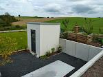 Gartenhaus mit Tür