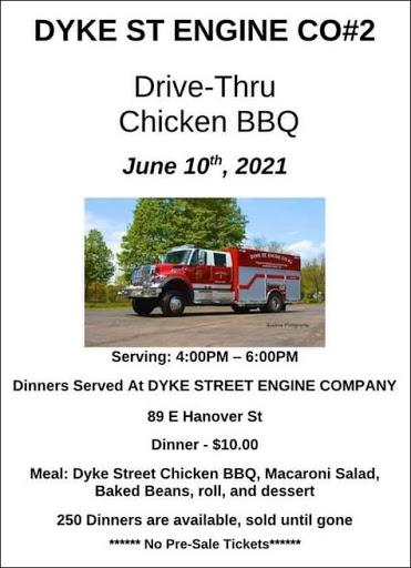 6-10 Drive Thru Chicken BBQ, Wellsville, NY