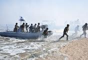 Украинские морпехи провели тактические учения в Николаевской области