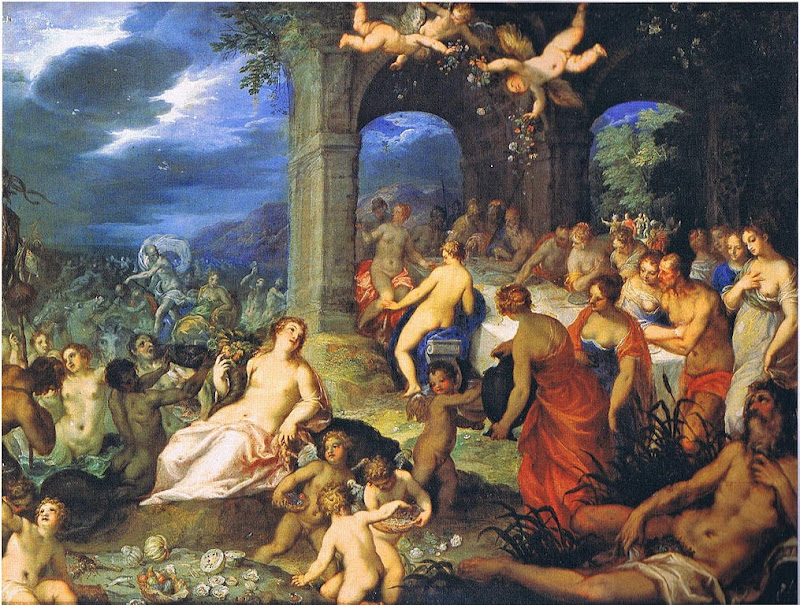 Hans Rottenhammer - Wedding of Neptune and Amphitrite