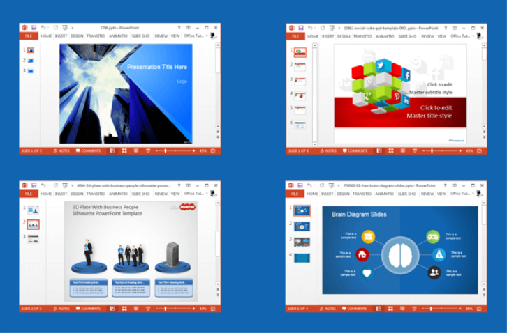 Websites for cool and free PowerPoint templates