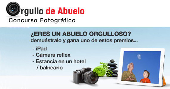 Últimos días de presentación de fotografías al concurso 'Orgullo de abuelo'