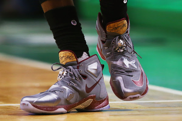 King James Gave a Special Olympics Star His Game Shoes