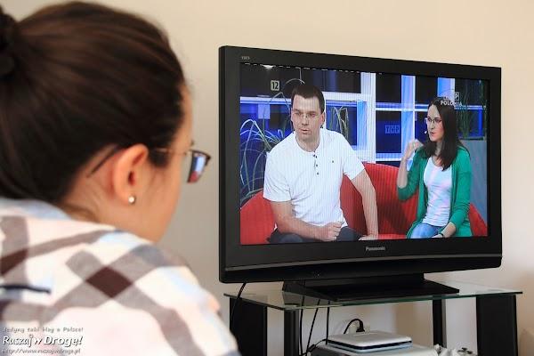 Kasia i Maciej Marczewscy w TVP Polonia