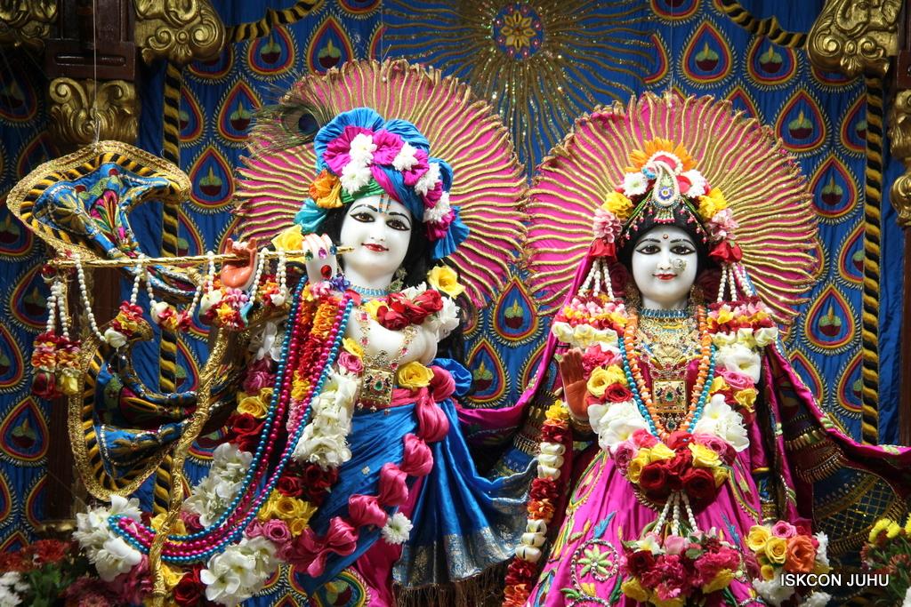 ISKCON Juhu Sringar Deity Darshan on 2nd Oct 2016 (8)
