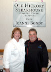 Joanne Bondy and Event Lead Chef Ty Thoren