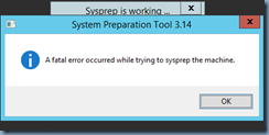 Terence Luk: Running sysprep on Windows Server 2012 R2