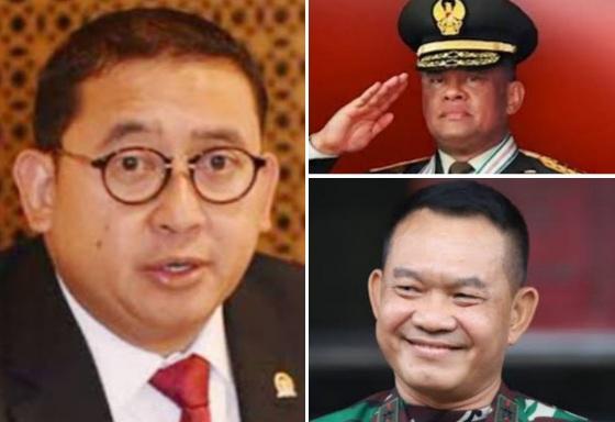 Fadli Zon Bela Gatot Nurmantyo, Letjen Dudung Disentil: Dulu Baliho, Sekarang Patung