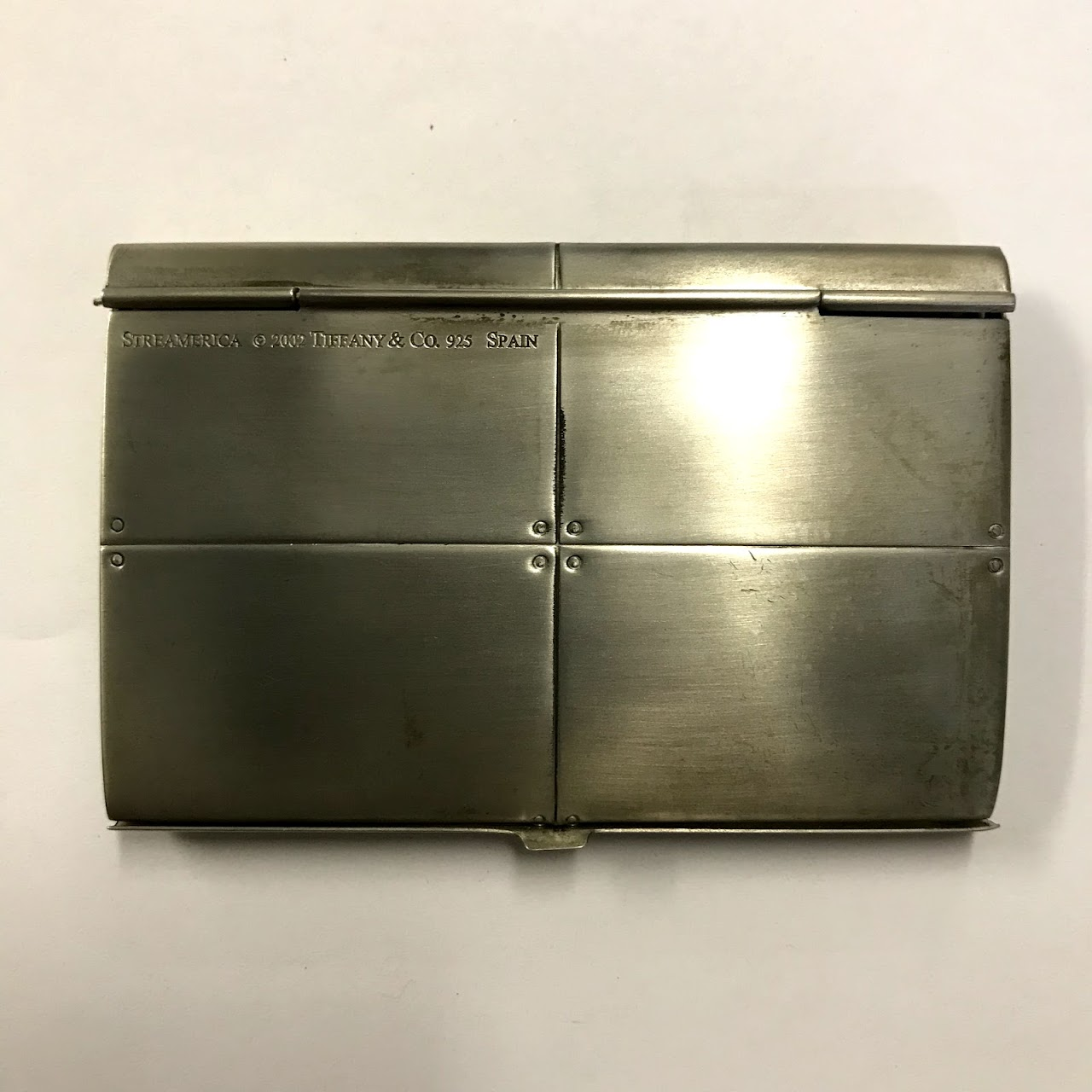 save off 7f457 18083 Tiffany & Co. Sterling Silver Streamerica Business Card Case ...