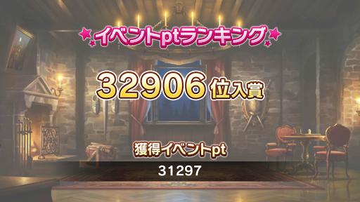 32906位 31297pt