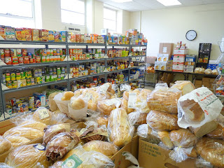 Lots of bread to give out.