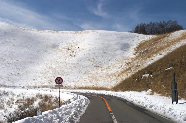 車山高原 冬